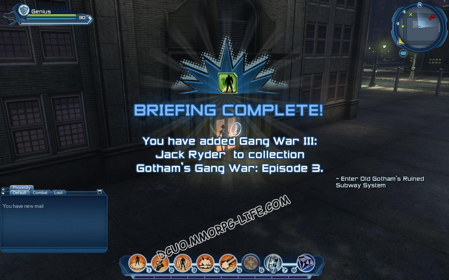 Briefing: Gotham's Gang War: Episode 3, step 5 Gang War III: Jack Ryder  image 2330 middle size