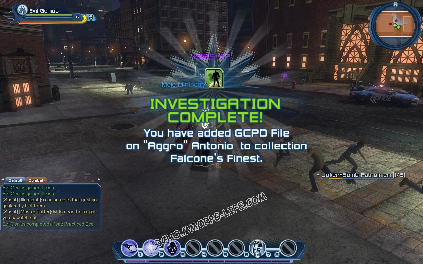 "Investigation: Falcone's Finest, step 6 GCPD File on ""Aggro"" Antonio  image 159 middle size"