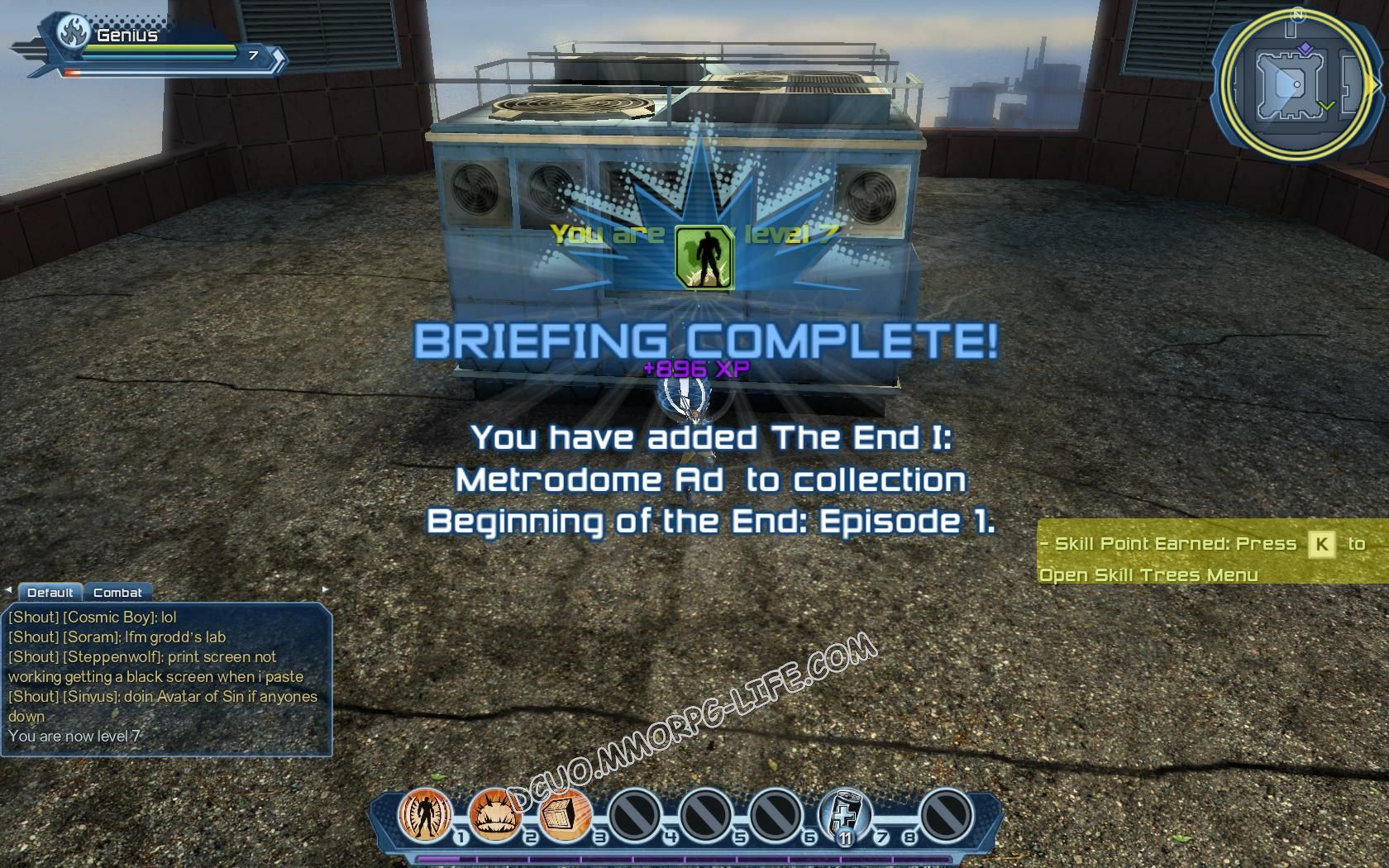 Briefing: Beginning of The End Episode 1, step 6 The End I: Metrodome Ad  image 312 middle size