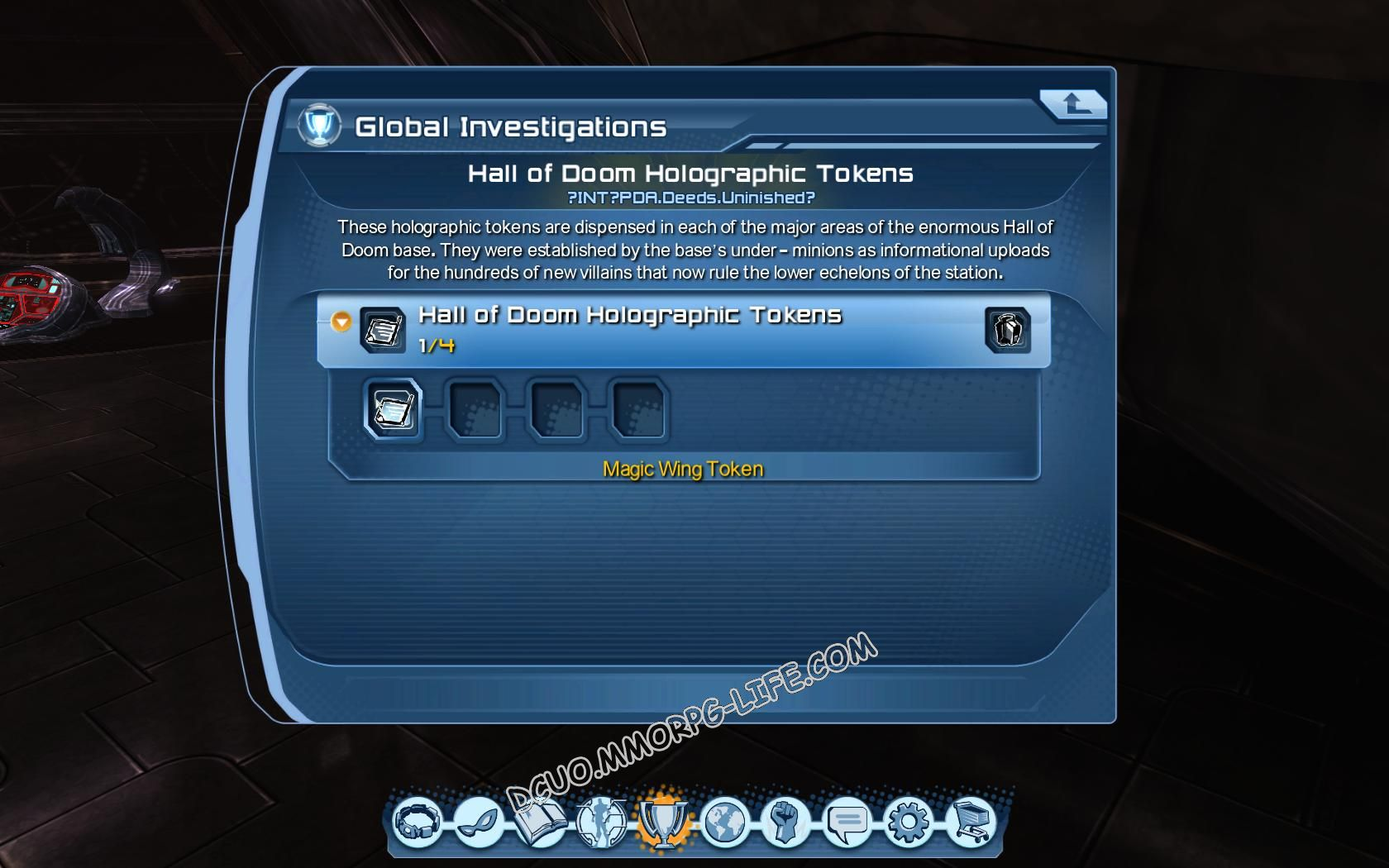 Investigation: Hall of Doom Holographic Tokens, step 1 Magic Wing Token  image 172 middle size