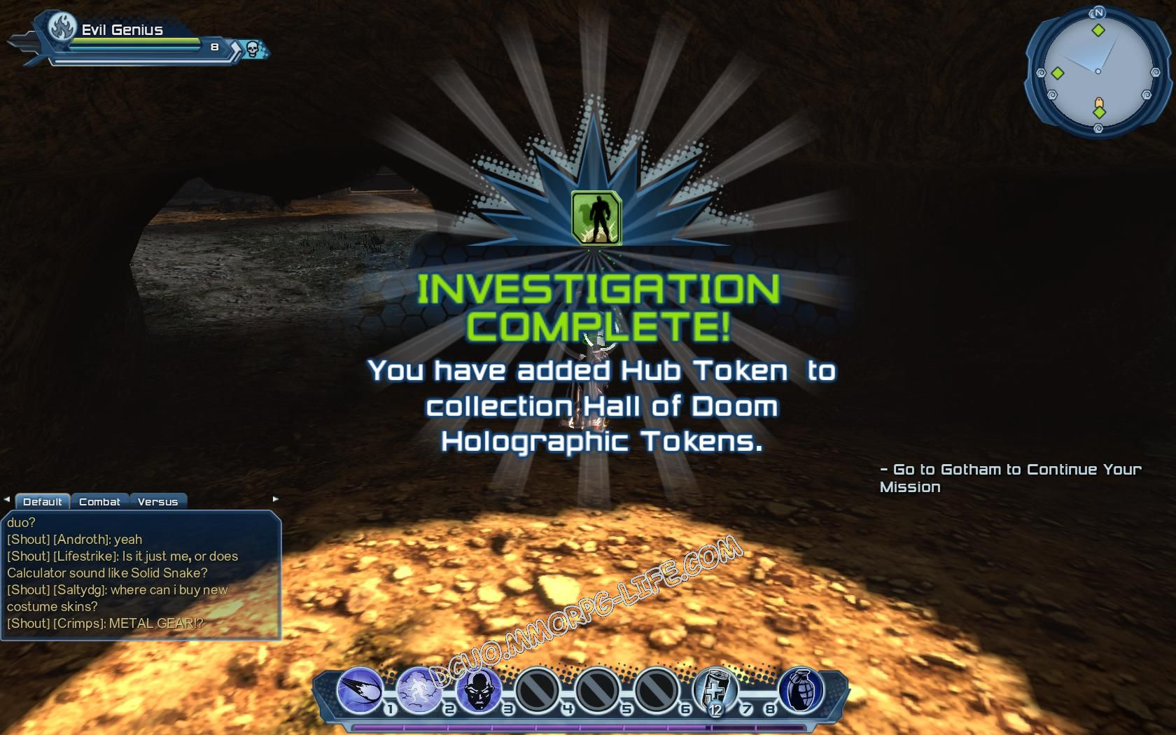 Investigation: Hall of Doom Holographic Tokens, step 4 Hub Token  image 183 middle size