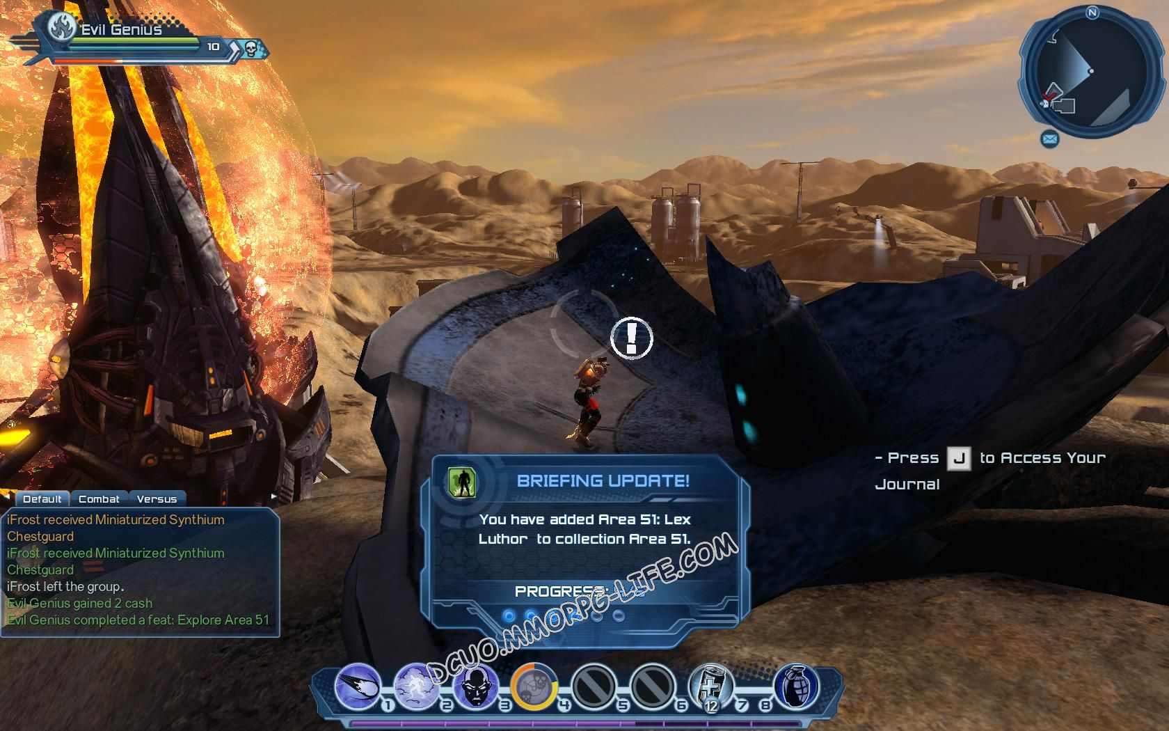 Area 51 | DC Universe Online Fansite