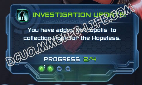 Investigation: Hope for the Hopeless, step 2 Metropolis  image 2986 middle size