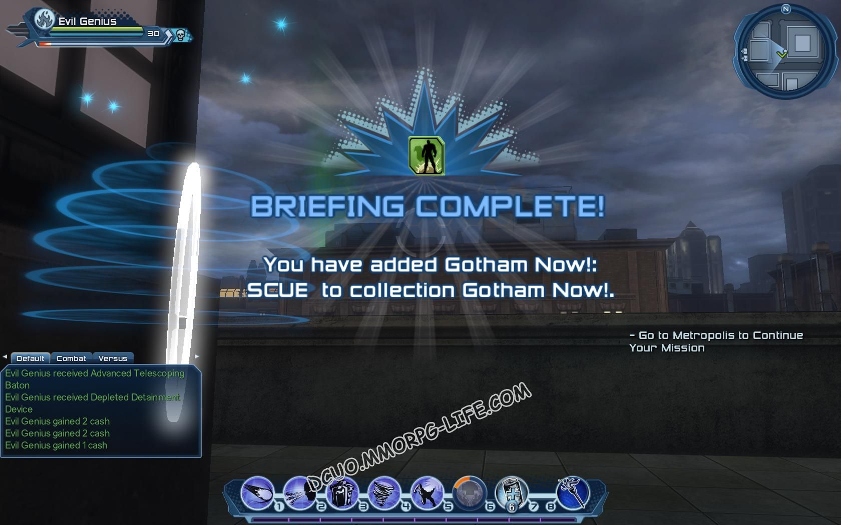 Briefing: Gotham Now!, step 4 Gotham Now!: SCUE  image 1477 middle size