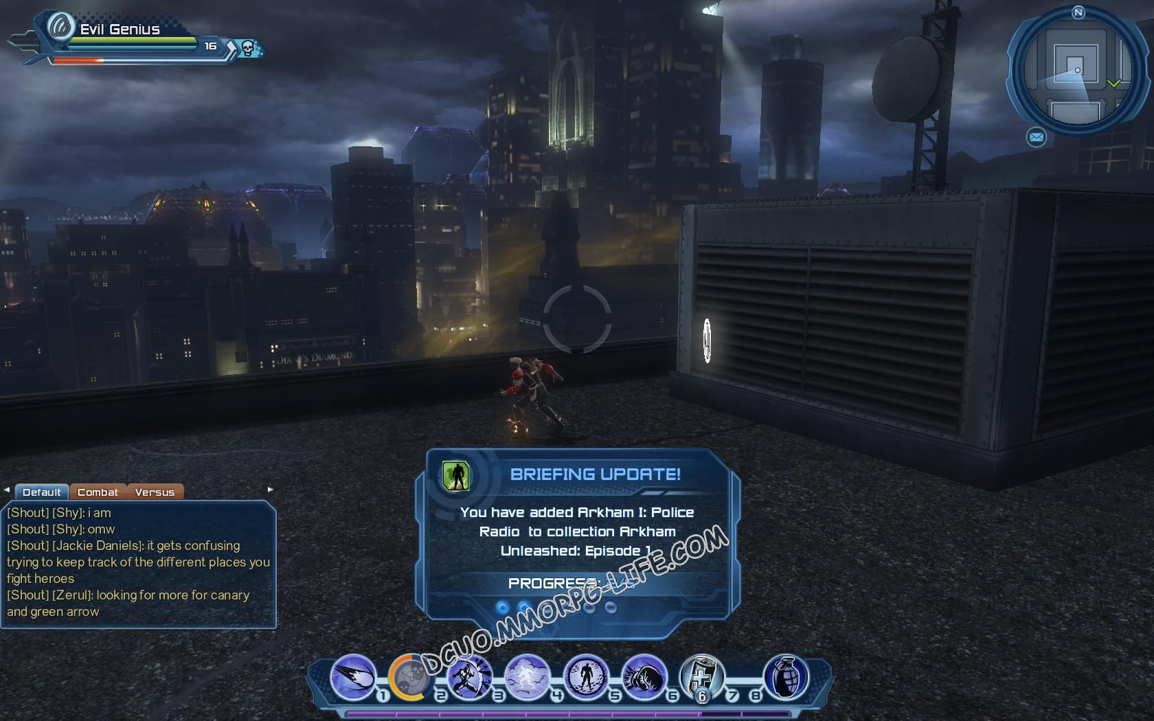 Briefing: Arkham Unleashed: Episode 1, step 3 Arkham I: Police Radio  image 623 middle size