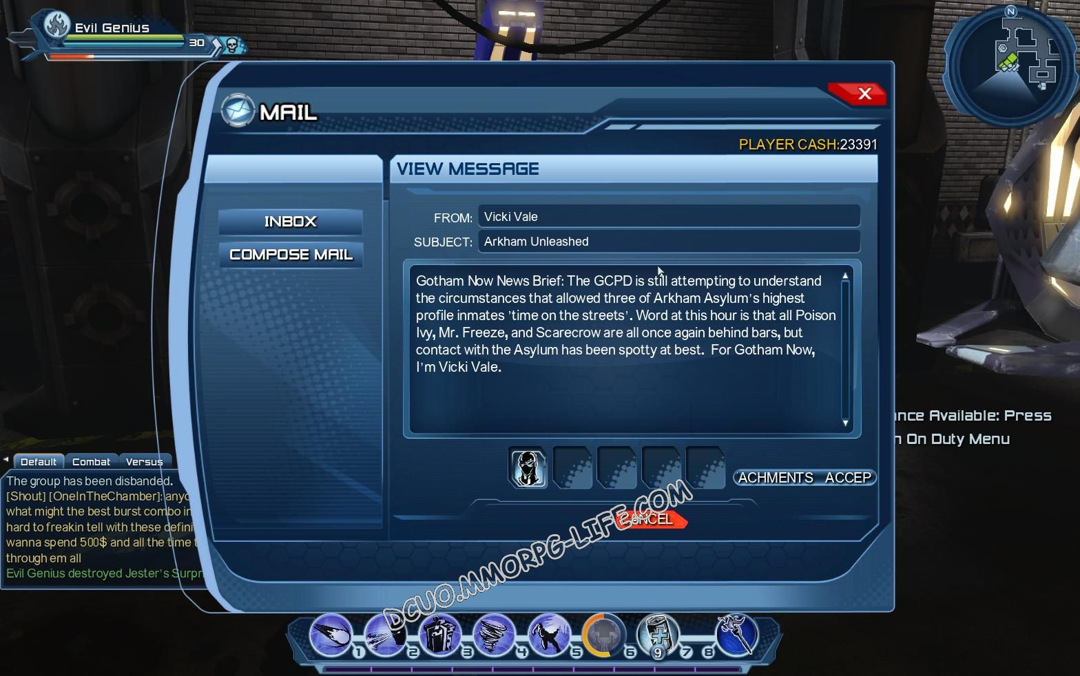 Briefing: Arkham Unleashed: Episode 1, additional info image 1617 middle size