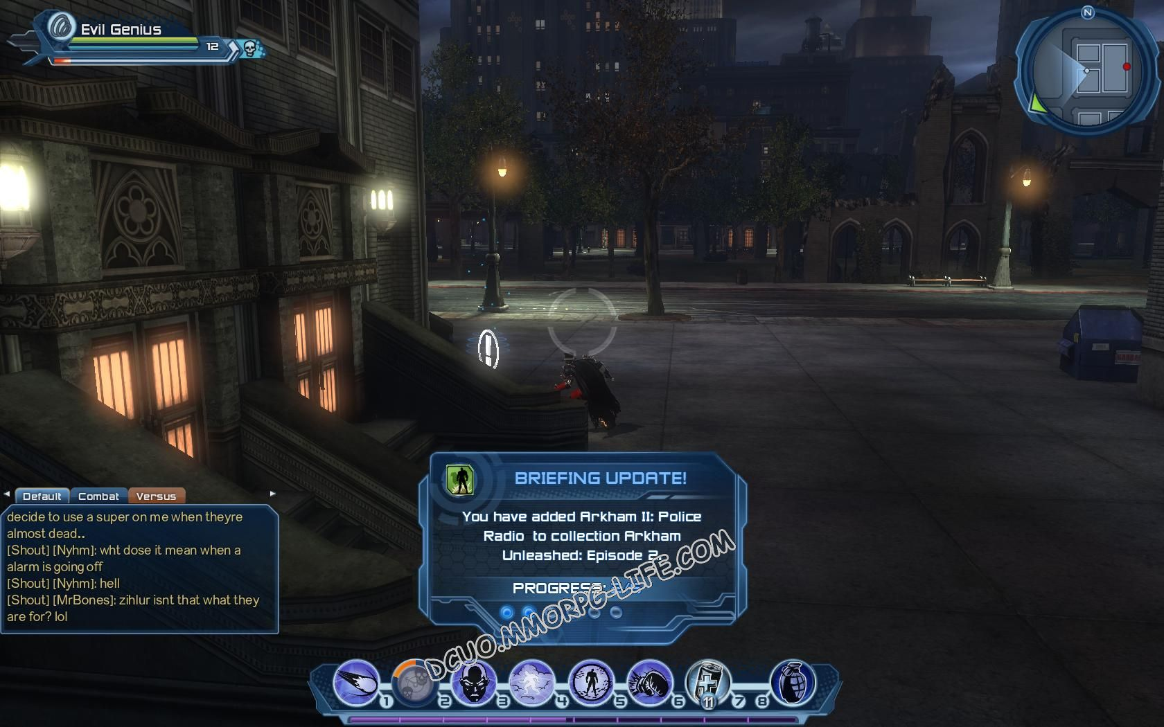 Briefing: Arkham Unleashed: Episode 2, step 3 Arkham II: Police Radio  image 720 middle size