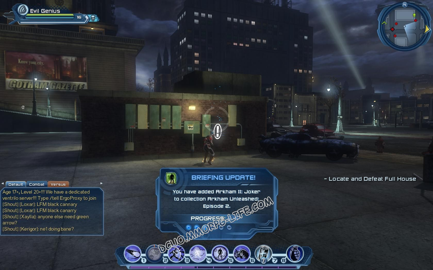 Briefing: Arkham Unleashed: Episode 2, step 6 Arkham II: Joker  image 732 middle size