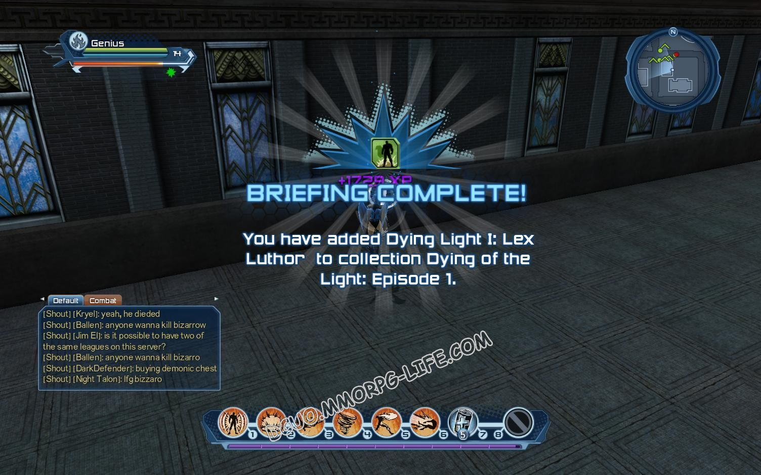 Briefing: Dying of the Light Episode 1, step 6 Dying Light I: Lex Luthor  image 1048 middle size