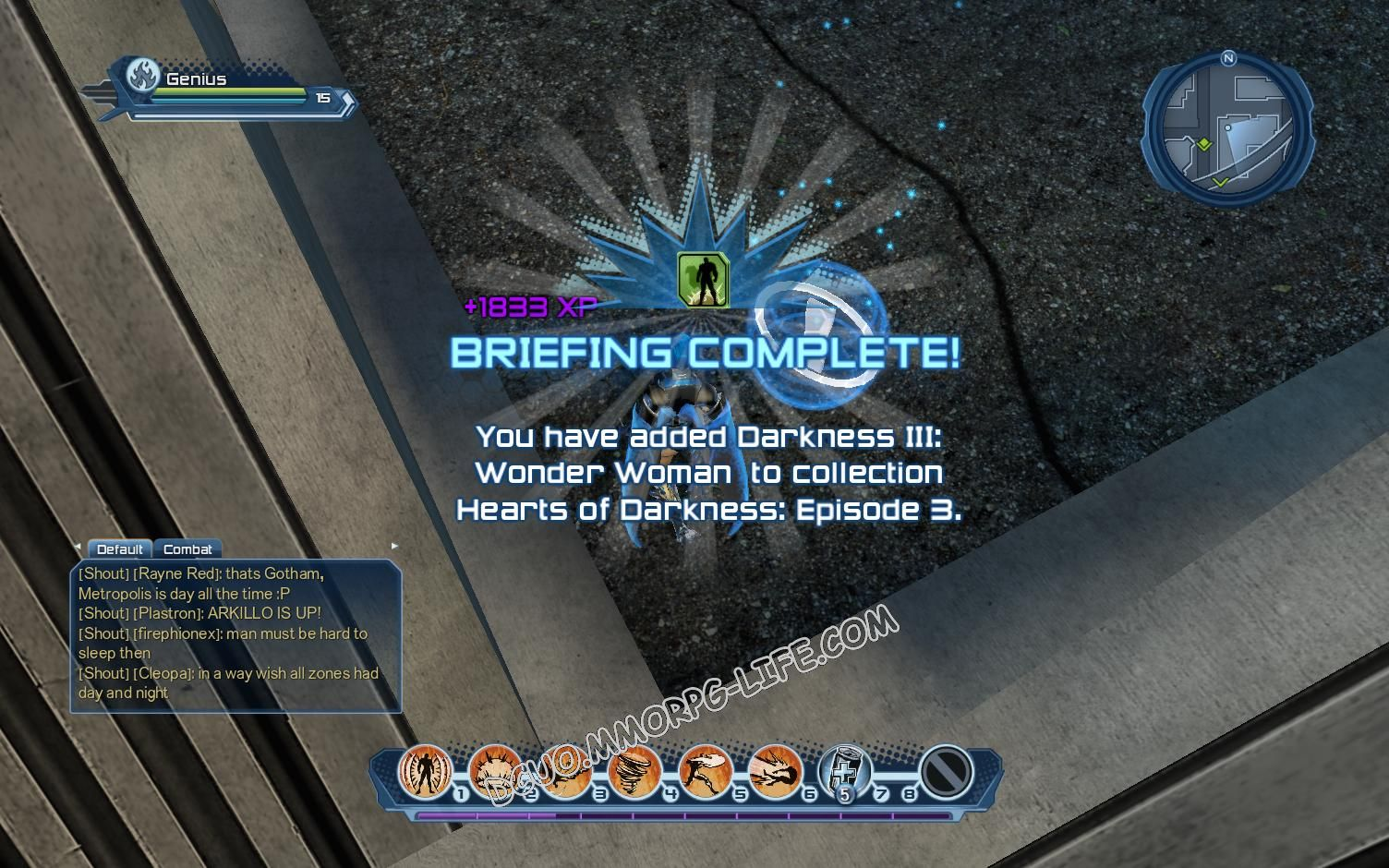 Briefing: Hearts of Darkness: Episode 3, step 6 Darkness III: Wonder Woman  image 1203 middle size