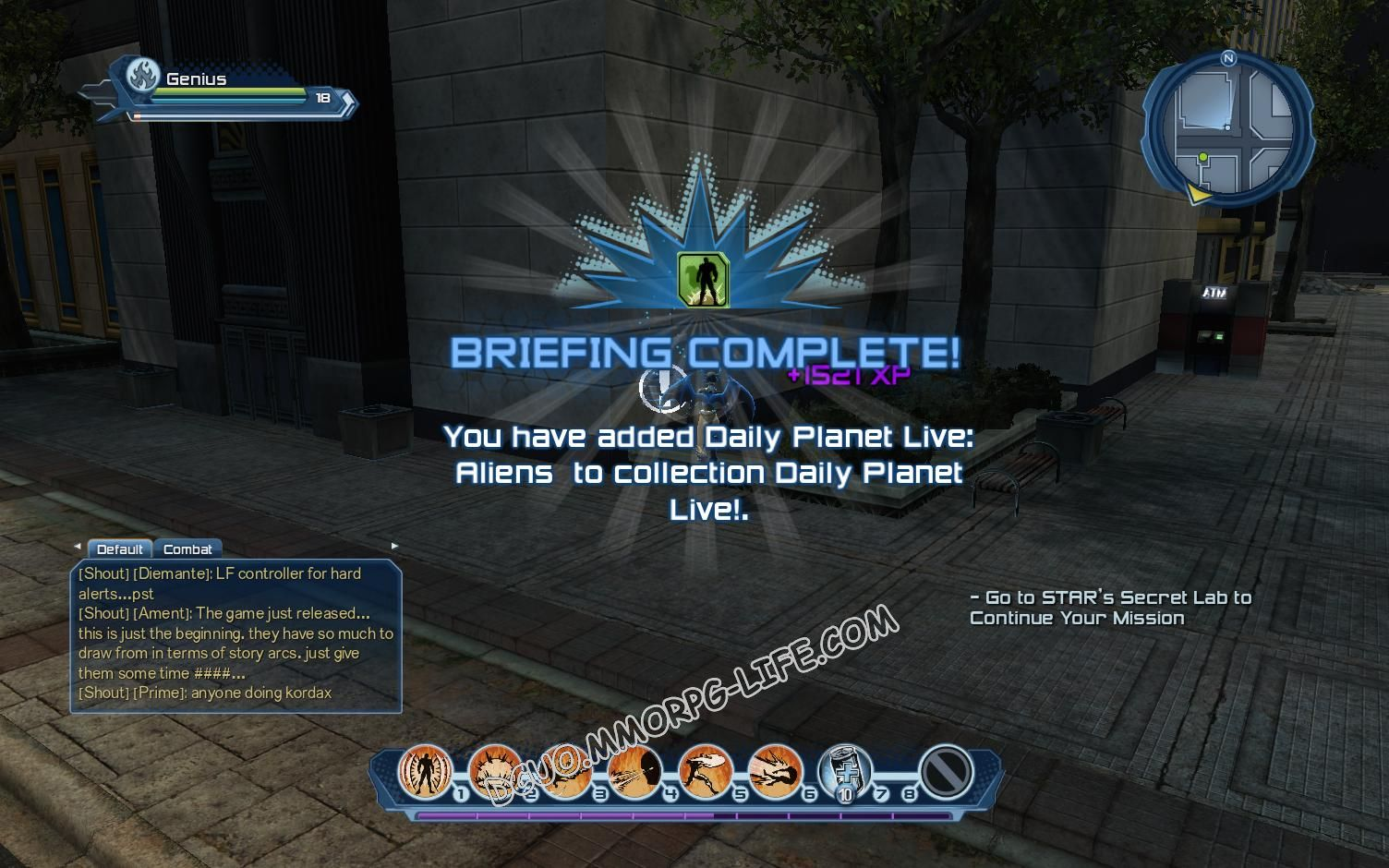Briefing: Daily Planet Live!, step 4 Daily Planet Live: Aliens  image 1536 middle size