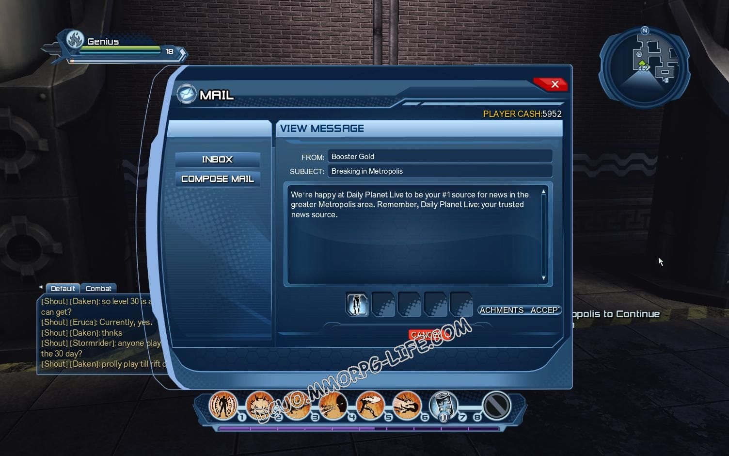 Briefing: Daily Planet Live!, rewards image 1537 middle size