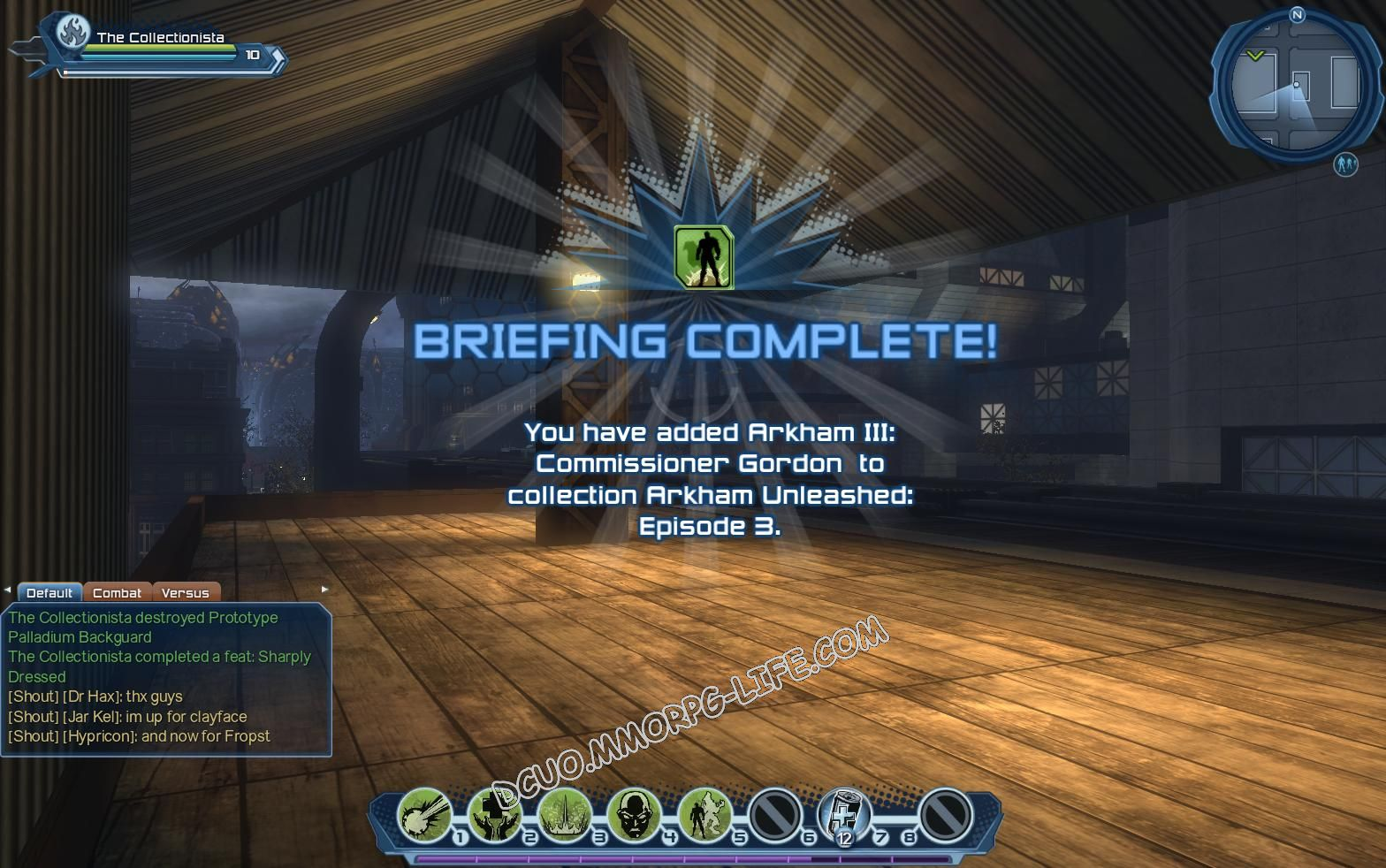 Briefing: Arkham Unleashed: Episode 3, step 4 Arkham III: Commissioner Gordon  image 1600 middle size