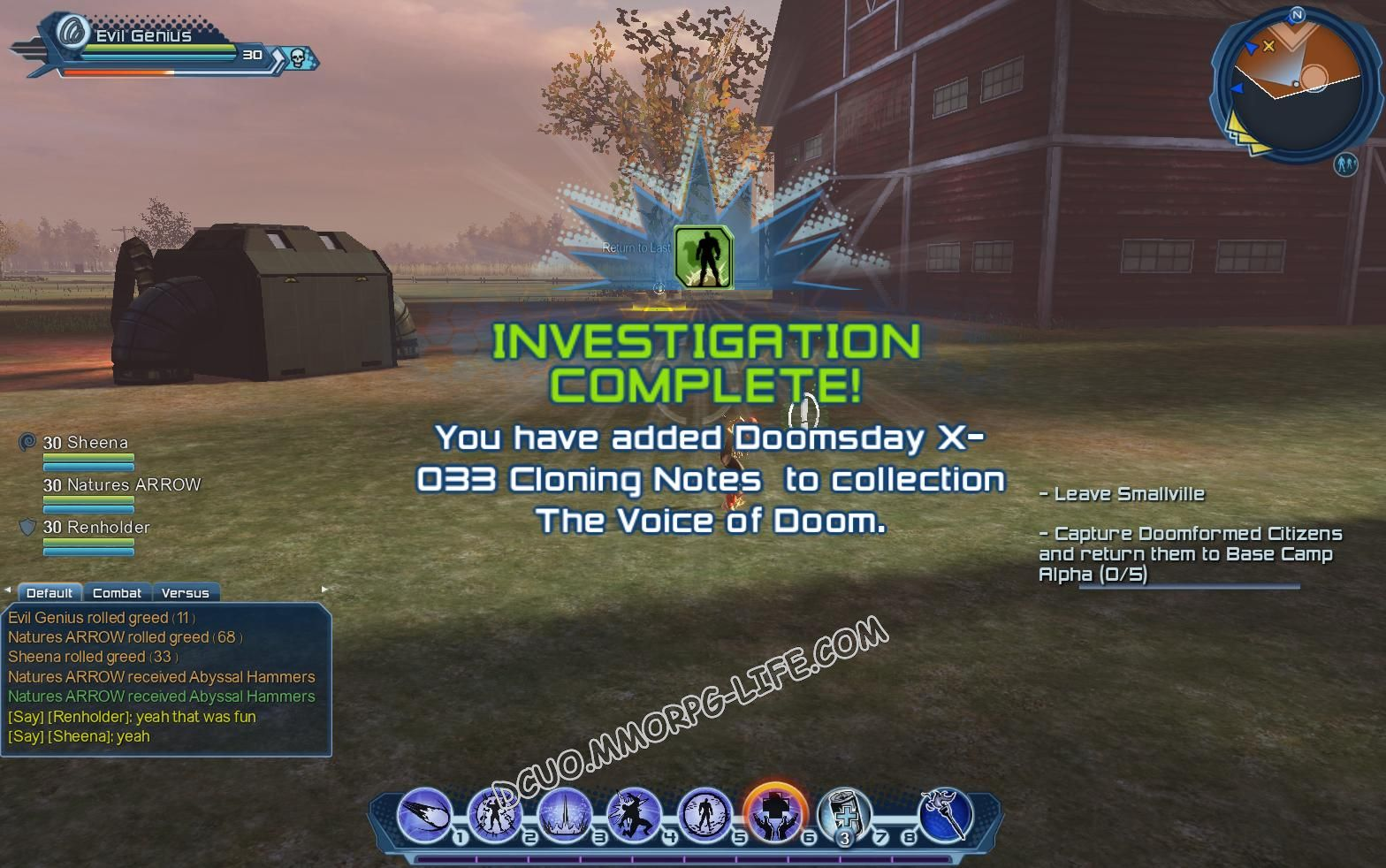 Investigation: The Voice of Doom, step 4 Doomsday X - 033 Cloning Notes  image 1639 middle size