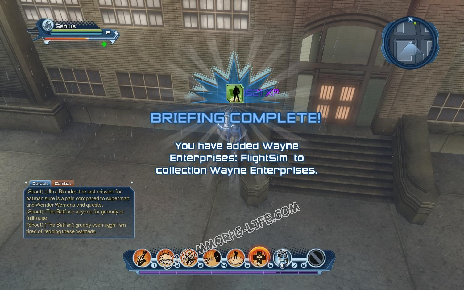 Briefing: Wayne Enterprises, step 3 Wayne Enterprises: FlightSim  image 1861 middle size
