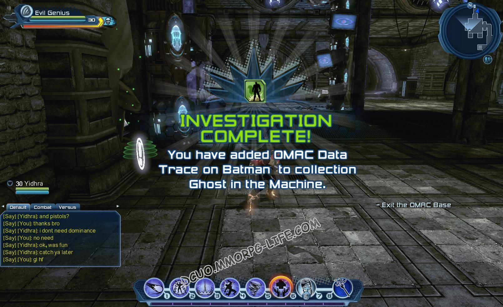 Investigation: Ghost in the Machine, step 6 OMAC Data Trace on Batman  image 1899 middle size