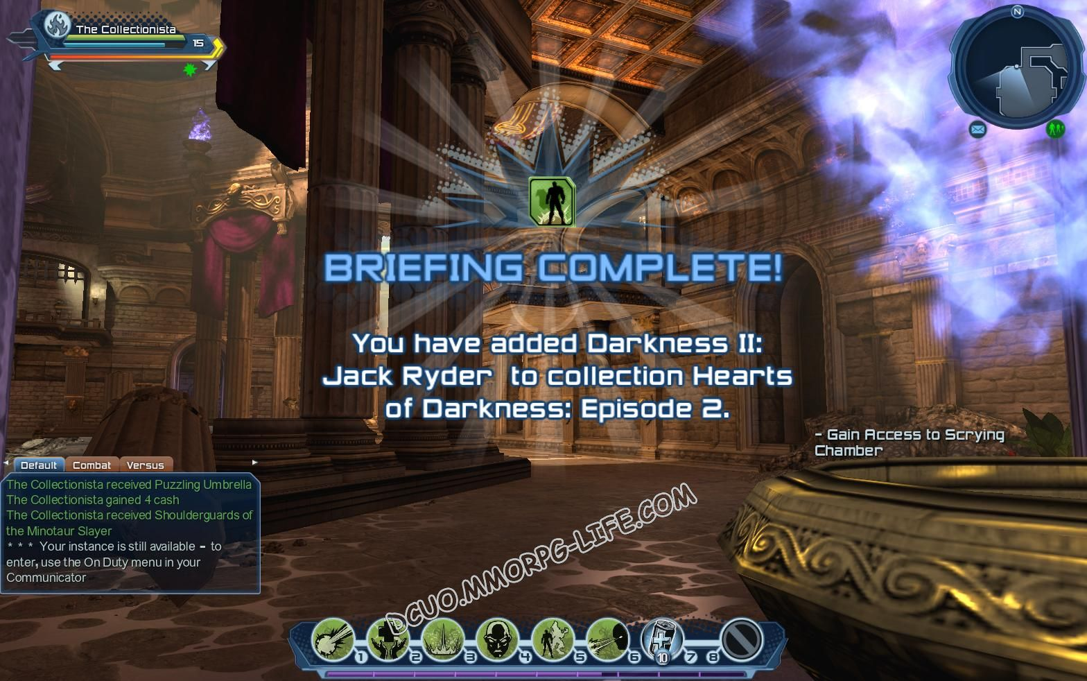 Briefing: Hearts of Darkness: Episode 2, step 2 Darkness II: Jack Ryder  image 1909 middle size
