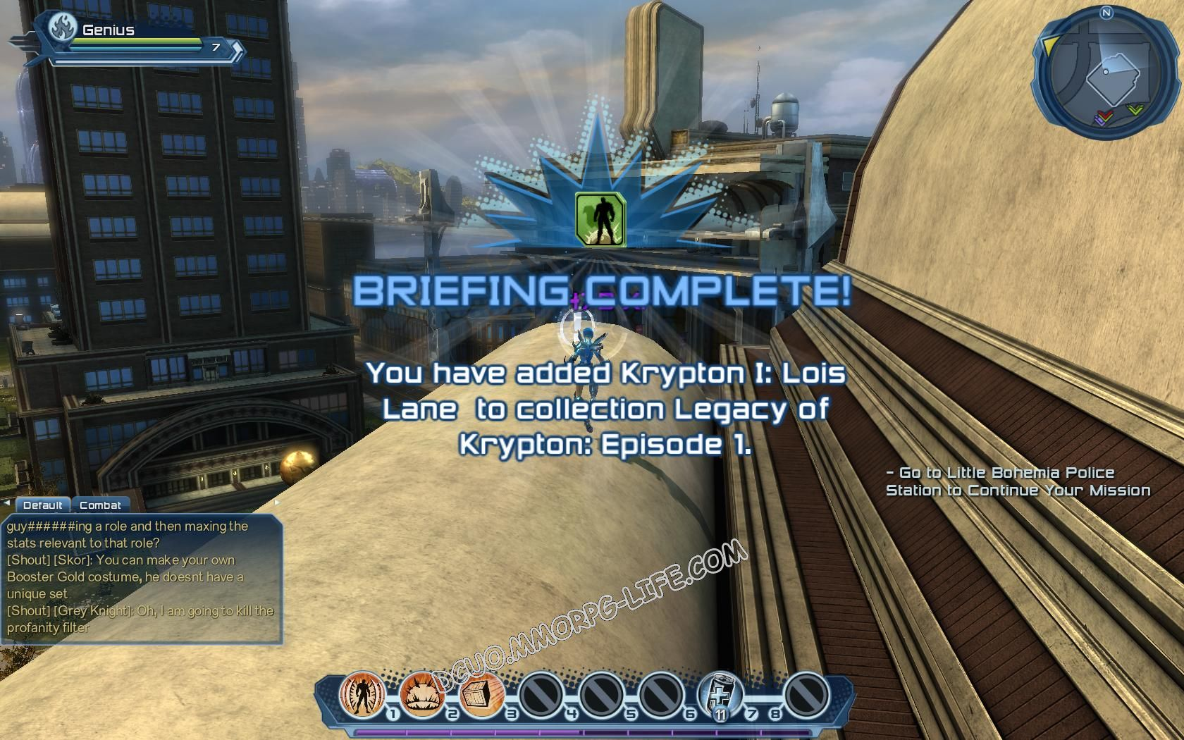 Briefing: Legacy of Krypton Episode 1, step 6 Krypton I: Lois Lane (2)  image 476 middle size