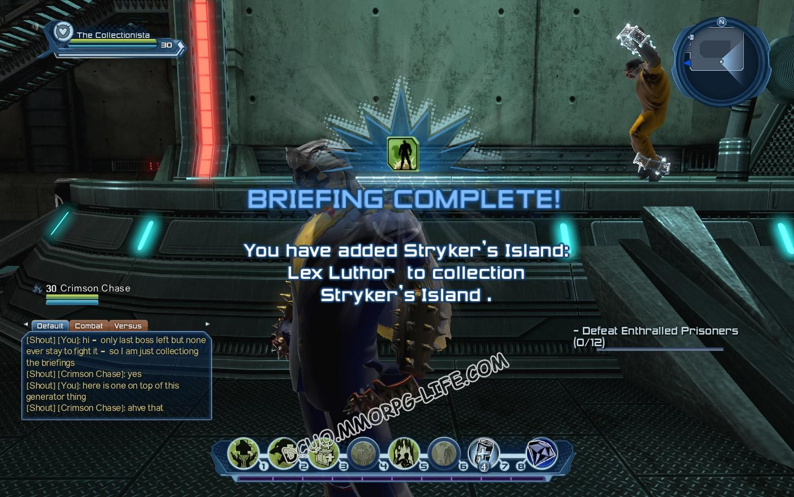 Briefing: Stryker's Island, step 5 Stryker's Island: Lex Luthor  image 2071 middle size