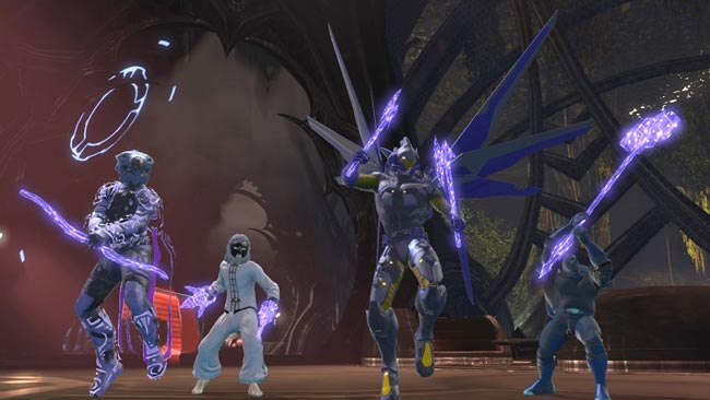 dcuo cerebral weapon style