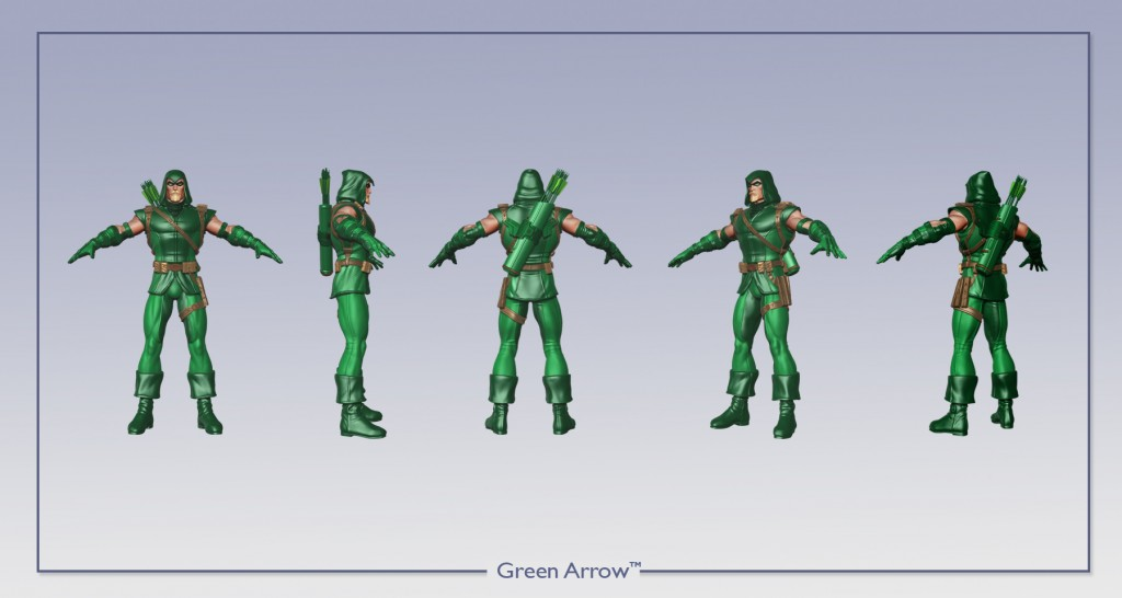 Green Arrow 360 Image