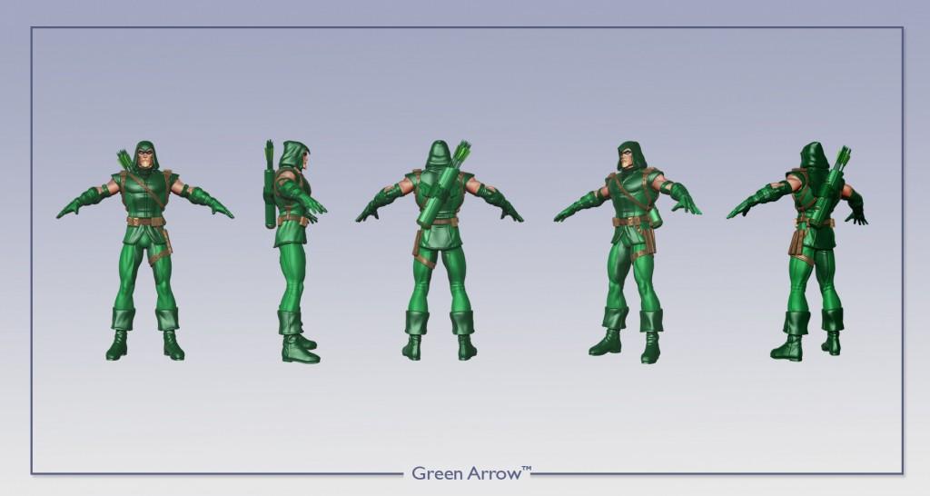 Green Arrow 360 Image